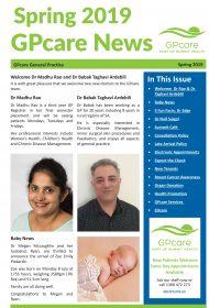 GPcare News Spring 2019 COVER sml