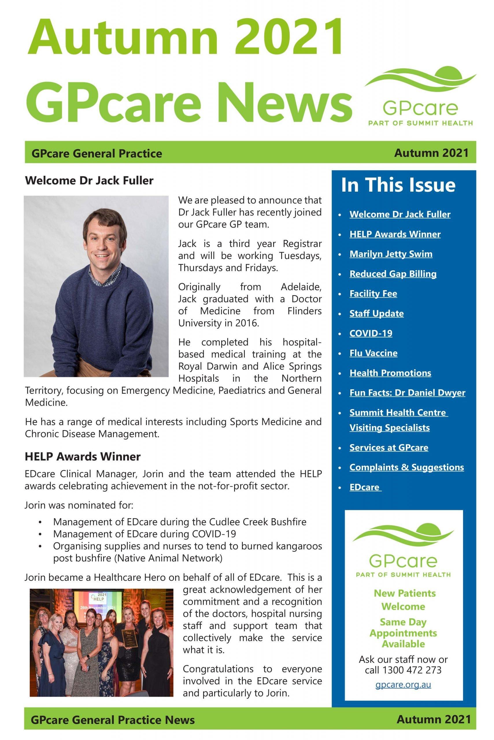 GPcare News AUTUMN 2021-1