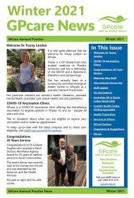 GPcare News WINTER 2021